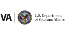 The VA logo, with text reading 'U.S. Department of Veterans Affairs'
