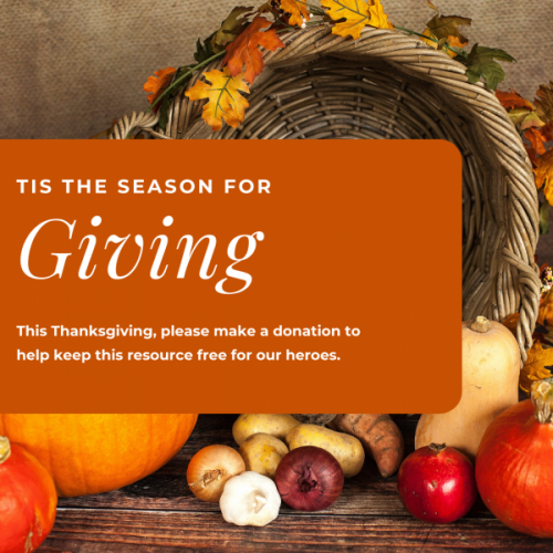 Thanksgiving image for donations